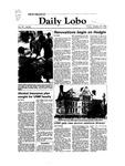 New Mexico Daily Lobo, Volume 087, No 45, 10/22/1982