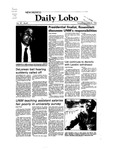 New Mexico Daily Lobo, Volume 087, No 47, 10/26/1982