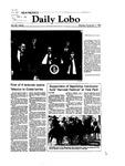 New Mexico Daily Lobo, Volume 087, No 51, 11/1/1982
