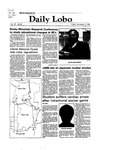 New Mexico Daily Lobo, Volume 087, No 55, 11/5/1982