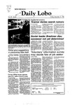 New Mexico Daily Lobo, Volume 087, No 60, 11/12/1982