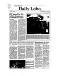 New Mexico Daily Lobo, Volume 087, No 65, 11/19/1982