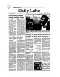 New Mexico Daily Lobo, Volume 087, No 70, 11/30/1982