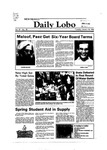 New Mexico Daily Lobo, Volume 087, No 78, 1/18/1983