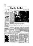 New Mexico Daily Lobo, Volume 087, No 106, 2/25/1983 by University of New Mexico