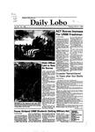 New Mexico Daily Lobo, Volume 087, No 108, 3/1/1983 by University of New Mexico