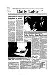 New Mexico Daily Lobo, Volume 087, No 110, 3/3/1983 by University of New Mexico