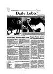 New Mexico Daily Lobo, Volume 087, No 116, 3/11/1983 by University of New Mexico