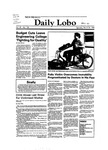 New Mexico Daily Lobo, Volume 087, No 120, 3/24/1983