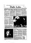 New Mexico Daily Lobo, Volume 087, No 127, 4/4/1983 by University of New Mexico