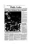 New Mexico Daily Lobo, Volume 087, No 128, 4/5/1983 by University of New Mexico