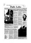 New Mexico Daily Lobo, Volume 087, No 131, 4/8/1983 by University of New Mexico