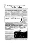 New Mexico Daily Lobo, Volume 087, No 132, 4/11/1983 by University of New Mexico