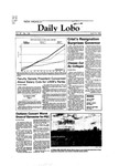 New Mexico Daily Lobo, Volume 087, No 136, 4/15/1983 by University of New Mexico
