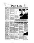 New Mexico Daily Lobo, Volume 088, No 3, 8/23/1983