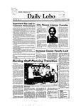 New Mexico Daily Lobo, Volume 088, No 9, 8/31/1983