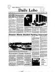 New Mexico Daily Lobo, Volume 088, No 10, 9/1/1983