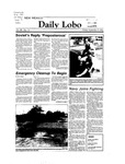 New Mexico Daily Lobo, Volume 088, No 15, 9/9/1983