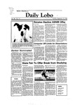 New Mexico Daily Lobo, Volume 088, No 17, 9/13/1983