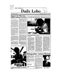 New Mexico Daily Lobo, Volume 088, No 29, 9/29/1983 by University of New Mexico