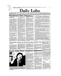 New Mexico Daily Lobo, Volume 088, No 30, 9/30/1983 by University of New Mexico