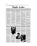 New Mexico Daily Lobo, Volume 088, No 32, 10/4/1983 by University of New Mexico