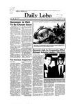 New Mexico Daily Lobo, Volume 088, No 37, 10/11/1983 by University of New Mexico