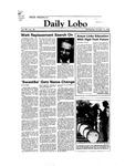 New Mexico Daily Lobo, Volume 088, No 38, 10/12/1983 by University of New Mexico