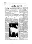 New Mexico Daily Lobo, Volume 088, No 40, 10/14/1983 by University of New Mexico