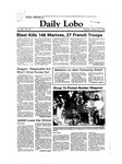 New Mexico Daily Lobo, Volume 088, No 46, 10/24/1983 by University of New Mexico