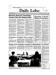 New Mexico Daily Lobo, Volume 088, No 47, 10/25/1983 by University of New Mexico