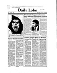 New Mexico Daily Lobo, Volume 088, No 50, 10/28/1983