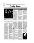 New Mexico Daily Lobo, Volume 088, No 56, 11/7/1983