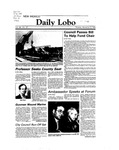 New Mexico Daily Lobo, Volume 088, No 57, 11/8/1983
