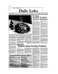 New Mexico Daily Lobo, Volume 088, No 61, 11/14/1983