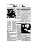 New Mexico Daily Lobo, Volume 088, No 65, 11/18/1983