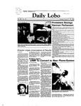 New Mexico Daily Lobo, Volume 088, No 67, 11/22/1983