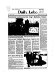 New Mexico Daily Lobo, Volume 088, No 76, 1/16/1984 by University of New Mexico