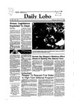 New Mexico Daily Lobo, Volume 088, No 77, 1/17/1984 by University of New Mexico