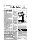 New Mexico Daily Lobo, Volume 088, No 80, 1/20/1984