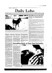 New Mexico Daily Lobo, Volume 088, No 81, 1/23/1984 by University of New Mexico