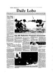 New Mexico Daily Lobo, Volume 088, No 82, 1/24/1984 by University of New Mexico