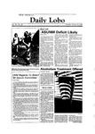 New Mexico Daily Lobo, Volume 088, No 84, 1/26/1984