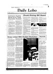 New Mexico Daily Lobo, Volume 088, No 85, 1/27/1984 by University of New Mexico