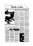 New Mexico Daily Lobo, Volume 088, No 86, 1/30/1984 by University of New Mexico