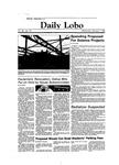 New Mexico Daily Lobo, Volume 088, No 88, 2/1/1984