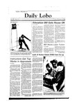 New Mexico Daily Lobo, Volume 088, No 90, 2/3/1984