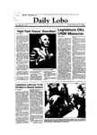 New Mexico Daily Lobo, Volume 088, No 100, 2/17/1984 by University of New Mexico