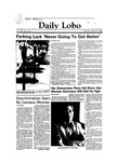 New Mexico Daily Lobo, Volume 088, No 111, 3/5/1984 by University of New Mexico