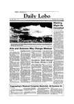 New Mexico Daily Lobo, Volume 088, No 112, 3/6/1984 by University of New Mexico